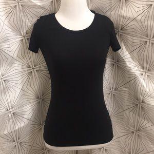 H&M Black Stretch T-Shirt